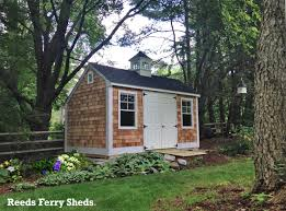 reeds ferry shed prices. Wonderful Reeds Reeds Ferry Sheds Antique Saltbox Style With Extended Back Roofline  Cedar Shake Siding And Copper Top Cupola To Shed Prices F