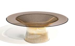 Coffee Table Stool Platner Gold Plated Coffee Table 36 Dia Hivemoderncom
