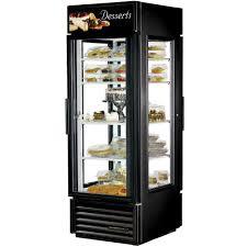Glass Refrigerator True G4sm 23pt Ld Black Pass Through Four Sided Glass Door