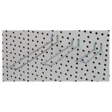 White peg boards Wall Choose Pegboard Fittings In Range Of Shapes And Sizes The Display Centre Buy Pegboard Fittings And Display Fixtures The Display Centre Uk