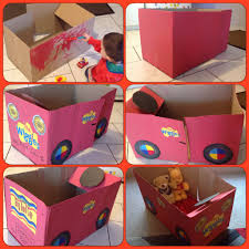 2 Year Birthday Ideas Started With A Cardboard Box And A 2 Year Olds Imagination The