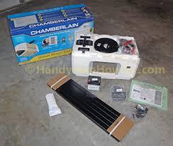 chamberlain belt drive garage door opener review chamberlain 3 4 hp belt drive garage door opener box contents