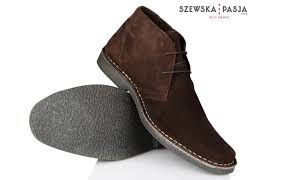 men s stylish leather suede chukka shoes boots solier to zoom