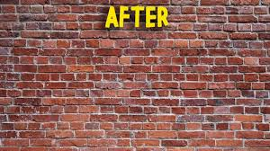 how to remove spray paint from brick