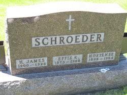 Effie Ketterman Schroeder (1873-1968) - Find A Grave Memorial