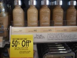 walgreens has b1g1 50 off right now on select l oreal cosmetics so we headed in