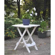 quik fold chalk patio side table 8500