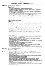 Accounts Receivable Specialist Resumes Financial Specialist Lovely Accounts Receivable Specialist Resume