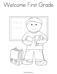 Coloring Pages For First Grade #16035
