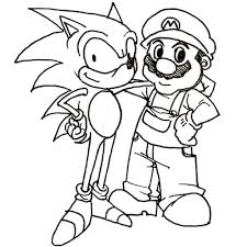Small Picture Mario Bros coloring pages