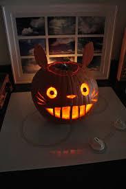 Totoro Pumpkin Designs Totoro Pumpkin Google Search Halloween Pumpkins Pumpkin