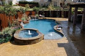 Pool Designs With Spa Geometric Pool And Spa Designs With Nongzico