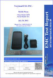 S470 Mobile Phone Test Report VeryKool USA