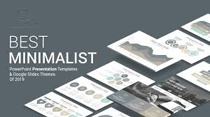 Power Point Tempaltes Best Minimalist Powerpoint Templates Of 2019 Slidesalad