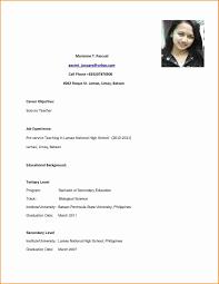 Sample Resume For High School Graduate Best Of Resume Example Resume