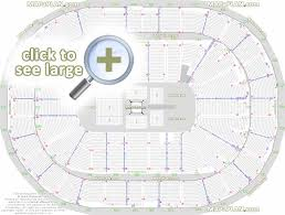 Consol Energy Center Seat Row Numbers Detailed Seating