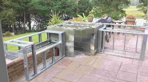 pre built outdoor kitchen islands unique outdoor kitchen island frame kit afiallega