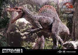 Spinosaurus Statue 1/15 Bonus Version, Jurassic Park III, 79 cm