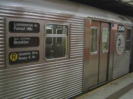 subway train side.  Side USANew York 49th Street Subway Station In Manhattan R32 Stock On  Southbound Local U0027Ru0027 Trains  YouTube Throughout Subway Train Side W