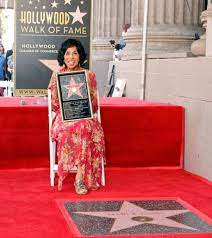 Marla Gibbs Recieves Her Star On The ...