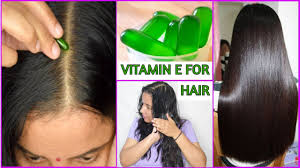 vitamin e capsule for your hair