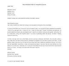 Reference Letter Template For Immigration Theredteadetox Co