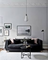 Simple grey interior with black accents.
