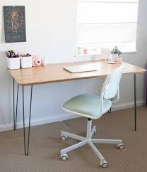 mid century modern chairs ikea. ikea hack mid century modern desk | sarah makes stuff chairs