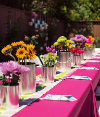 Cool party table arrangements inspiring ideas for stunning table decorations  for birthdays : excellent decorations