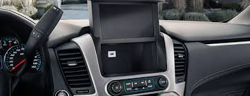 2018 gmc yukon slt. contemporary yukon image of the charging ports located on center dashboard in 2018 gmc  yukon full with gmc yukon slt c