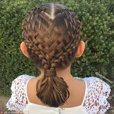 Fancy Hair Design Fancy Hair Braids On Little Girl Amaze Social Media 3