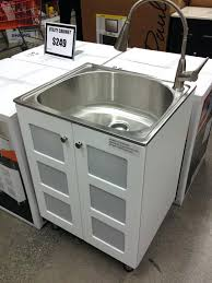 full image for stainless steel laundry sink cabinet 249 home depot laundry sink cabinet uk american