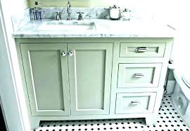 bathroom vanity with right offset sink vanities sinks tops top left 42 inch