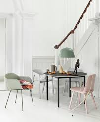Armchair Upholstery Fiber Armchair Front Upholstery Tube Base By Muuto