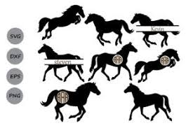 Jockey on horse ai file. Horse Monogram Svg Graphic By Cosmosfineart Creative Fabrica Monogram Svg Horse Silhouette Free Horses