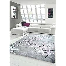 purple and grey rugs for pink cream rug amazing contemporary fl beige black home interior