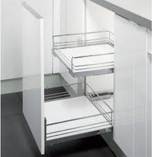 Pull-Out Drawer - For Drawer Front - Wire Basket - 600mm Module - Basket