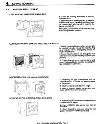 xl 2 hookup and installation instructions fire note for ul installations mount the xl4600rm to an eafih grounded outlet box