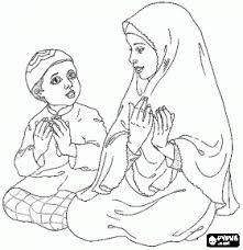 Islamic Coloring Page Islami Ramadan Crafts Islam Islam For Kids