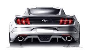 Mustang Designer Ford Mustang Design Sketch By Kemal Curic Car Body Design