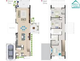 smart home design plans. House Plan Floor : Bright And Modern Family Plans Narrow Lot Small . Smart Home Design P
