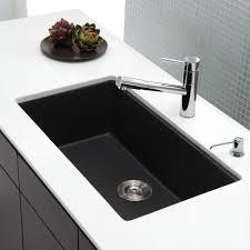 Kraus Kgu413b 31 Inch Undermount Single Bowl Granite Kitchen Sink