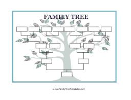 Blank Family Tree Template Free Premium Template Family Tree Templates Bravebtr