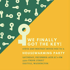 Housewarming Invitations Templates Mesmerizing Key Housewarming Party Invitation Templates By Canva