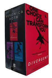 divergent box set 3 books trilogy veronica roth allegiant insurgent sf new
