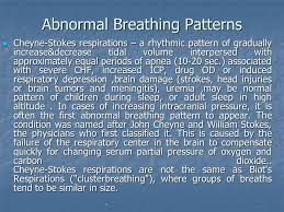 Abnormal Breathing Patterns Custom Normal Abnormal Breathing Pattern Ppt Download