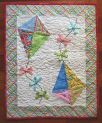 scrappy picture #quilt of child flying a kit with his dog | Kid ... & scrappy picture #quilt of child flying a kit with his dog | Kid Quilts |  Pinterest | Mini quilts Adamdwight.com