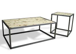 industrial looking furniture. industrial modern coffee cocktail table set furniture looking tables 8300138