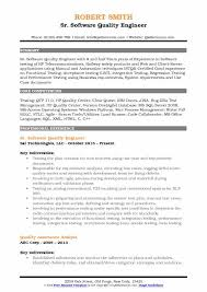Quality Engineer Resume Adorable Software Quality Engineer Resume Samples QwikResume