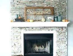 painted gray fireplace stone sneak k